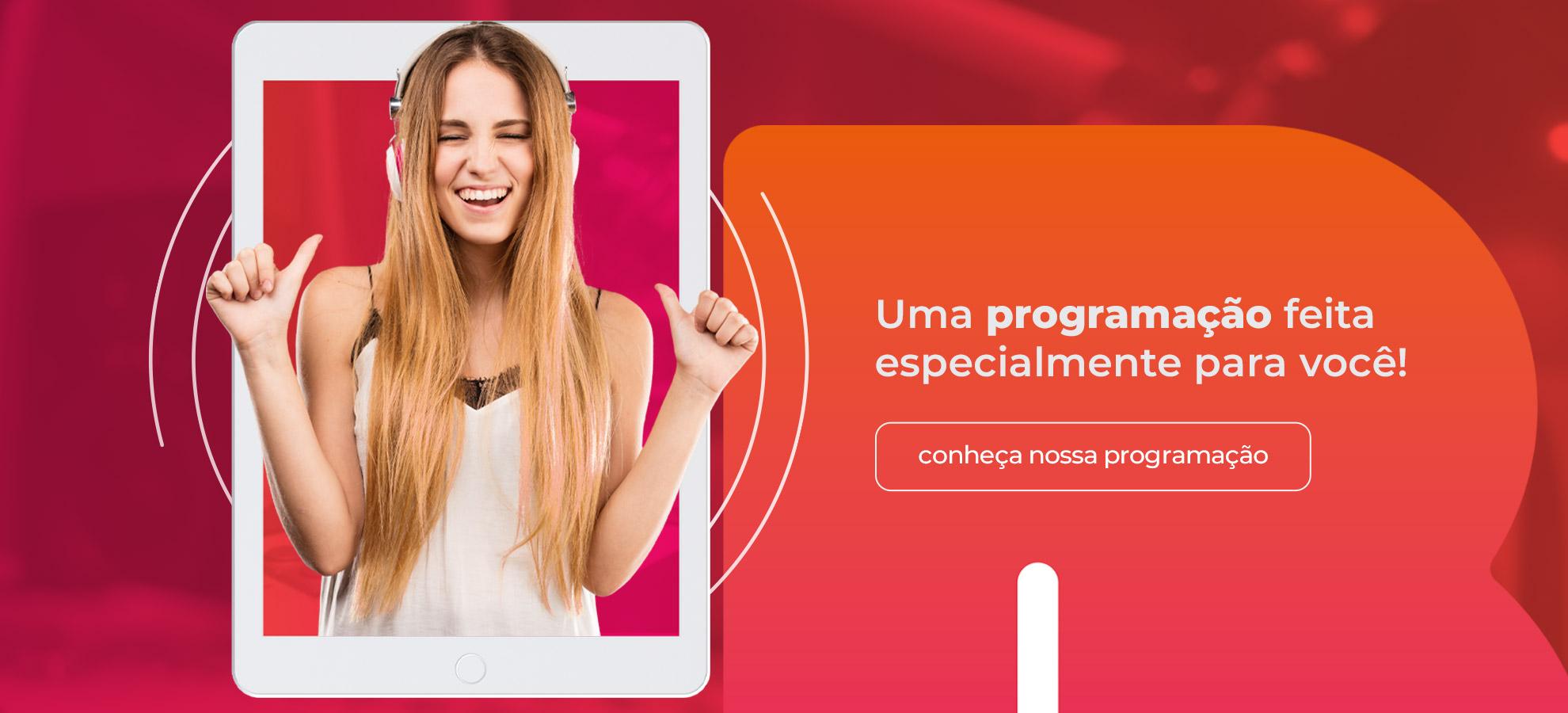 Slide Bianca FM - Programação