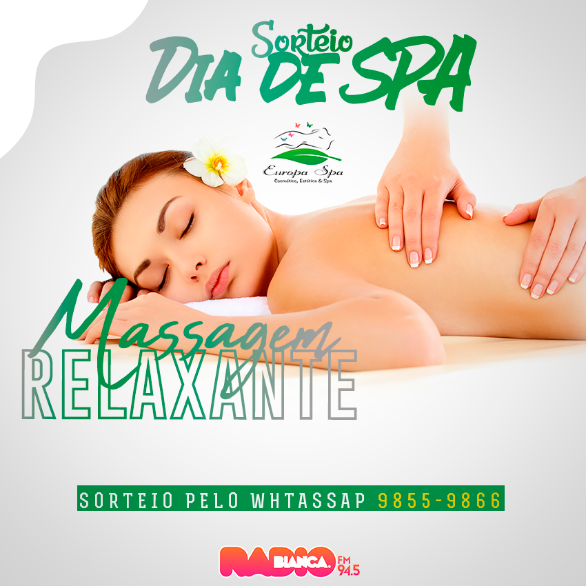 Dia de Spa Massagem