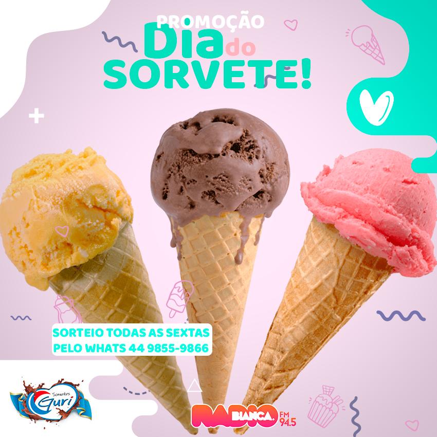 Quem ama sorvetes Guri