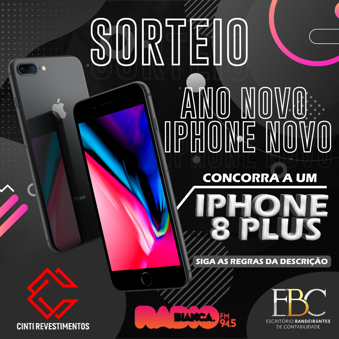 Ano Novo de Iphone Novo